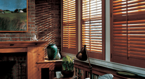 Would you choose wood blinds for a window treatment?